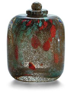"Maurice Marinot, ""Le Perroquet doré"", perfume bottle, 1928"