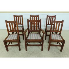 Oak Dining Room Chairs, Mission Oak, Living Room, Antiques, Kitchen, Furniture, Design, Home Decor, Antiquities
