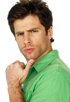 James Roday. It's weird calling him that. I'd like to think that he is Shawn Spencer at ALL times... #Psych