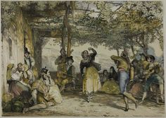 John Frederick Lewis English, 1805-1876 Spanish Peasants Dancing the Bolero, 1836. Art Institute Chicago | Flickr - Photo Sharing!