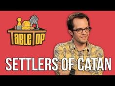 Settlers of Catan: Wil Wheaton, Teaches you how to play. Think Ill play this video every time I teach someone new to play.  Its too funny!
