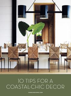 Get a chic beach house look with these 10 decor tips