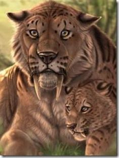 Las Mejores 29 Ideas De Tigre Dientes De Sable Tigre Dientes De Sable Dientes De Sable Animales Prehistóricos