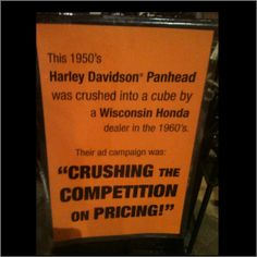 Motorcycle Museum, Harley Davidson Panhead, Wisconsin, Competition