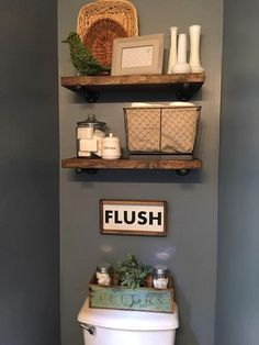 This bathroom flush sign would be a great addition to your home décor or even a great gift. It is approximately 12.5 X 7 Framed (give or take 1/2 inch) and comes with a saw tooth hanger (unattached) for wall placement. Because natural wood is used, each piece is different. I dont hide any of the woods imperfections (knots, rings, etc.) as I believe this just adds character. Note: Colors may vary due to resolution/settings on your monitor, phone, or tablet. Your items will be shipped... Downstairs Bathroom, Bathroom Wall, Bathroom Toilet Decor, Burlap Bathroom, Bathroom Shelves, Counter Top Sink Bathroom, Bathroom Hacks, Bathroom Ideas, Bath Ideas