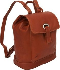 Piel Large Oval Loop Backpack Saddle - via eBags.com!