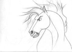 Spirit Stallion of the Cimarron - Concept Art (not necessarily fan art)