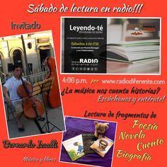 La música cuenta historias?, nuestro tema de charla en Leyendo-Te radio por internet a través de Radio Diferente