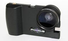 phocus: iPhone DSLR photography adapter.