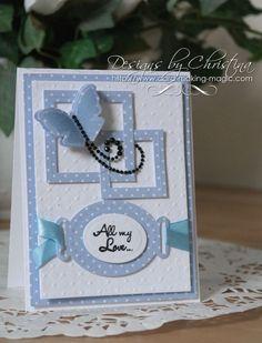 Sapphire - All My Love Card | Spellbinders