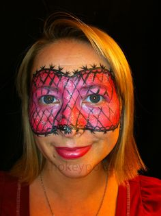 Face Painting Design - Mask