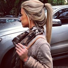 I want my hair this color blonde I'm over the platinum I need some low lights!