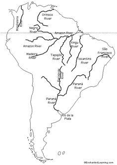rivers of South America   - Explore the World with Travel Nerd Nici, one Country at a Time. http://TravelNerdNici.com