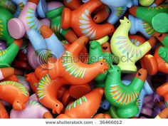 clay whistles