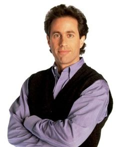 Comic/actor Jerry Seinfeld turns 60 today. He was born 4-29 in 1954.