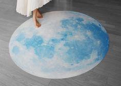 i3Lab Blue Moon Waltz Rug by .i3 Lab. [i-cubed-lab]  at Bouf.com