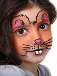 Рисунки на лице для детей11