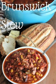 Brunswick Stew is like the ultimate comfort food (BBQ pulled pork and brisket) meets another comfort food (stew) and has a comfort food baby: BBQ Stew.