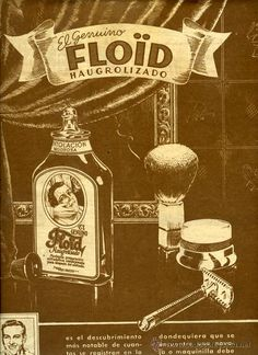 Loción de afeitado Floid.