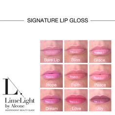Our Signature Lip Gloss is perfect for every lip tone. Wear alone or over your favorite lip color.