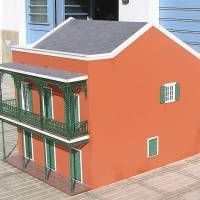 Houseland Parque Temático. Vivienda tradicional Nueva Orleans (EE.UU). Scale Model Architecture, Scale Models, Shed, Outdoor Structures, Outdoor Decor, Home Decor, Templates, Different Types Of, Countries Of The World