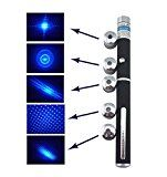 Blue Violet 405nm 5mW Laser Pointer Beam Light Pen along with Star Cap  Batteryby Generic3921% Sales Rank in Office Products: 323 (was 12991 yesterday)(1) (Visit the Movers & Shakers in Office Products list for authoritative information on this product's current rank.)
