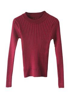 Elegant-Women-Fall-Thread-Elastic-Slim-Fit-Pullover-Knitting-Bottoming-Sweater