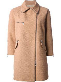 ERMANNO SCERVINO - textured jacquard coat 7