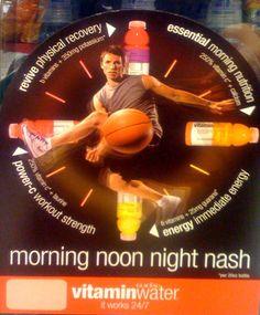 Steve Nash Vitamin Water 58