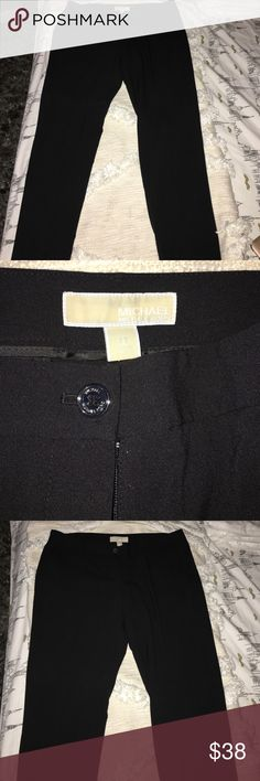 Michael Kors slacks NWOT size 12 Michael Kors black slack pants! Michael Kors Pants