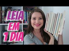 LIVROS PARA LER EM UM DIA | Patricia Lima - YouTube