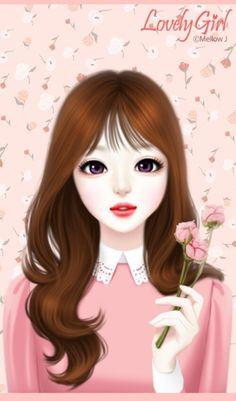 Imagen de Enakei, lovely girl, and girl