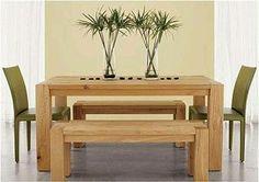 mesas de comedor de madera modernas - Buscar con Google