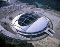 Ōita Bank Dome (Ōita, Japan). Capacidade: 43.000