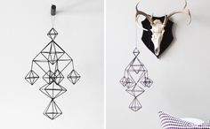 Himmeli No. 6 Geometric Mobile($67): These beautiful mobiles are probably little too grown up for the nursery - we love how they almost look like line drawings just hanging from your ceiling.