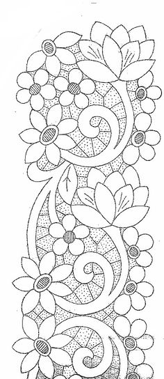 Designs for embroidery For Carving Cutwork Embroidery, Hand Embroidery Designs, Embroidery Stitches, Embroidery Patterns, Machine Embroidery, Stained Glass Patterns, Mosaic Patterns, Flower Patterns, Crazy Quilting