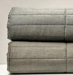 linen brick quilt