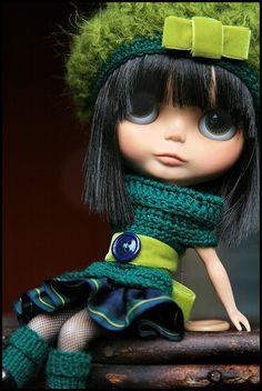 Blythe doll fashion