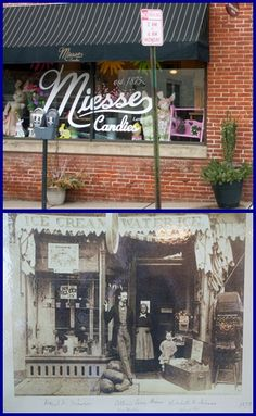 Miesse Candy in Lancaster,PA was my Mom & Grandma's favorite Valentines candy. This pic is the modern store and the first store they opened