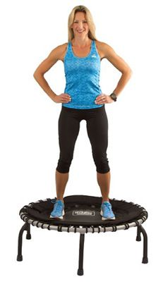 Top 3 Trampoline Exercises for Fitness trampolines! Workout videos featuring trampoline exercises to target your Arms, Abs, and Assets. Jump into fitness! Tummy Workout, Gym Workout Tips, Belly Fat Workout, Easy Workouts, Rebounder Workout, Mini Trampoline Workout, Backyard Trampoline, Dance Workout Videos, Low Impact Workout