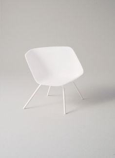 ONE TO FIVE chair white | chair . Stuhl . chaise | Design: Thomas Feichtner | Harry Schmidt |