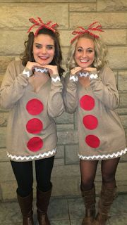 Gingerbread man costumes!