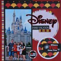 Gallery Projects - Scrapbooking - Disney - Two Peas in a Bucket