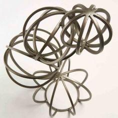 SACC BALL Figurină geometrică metal