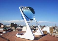 Concentradores solares esféricos mejoran el 35% en eficiencia
