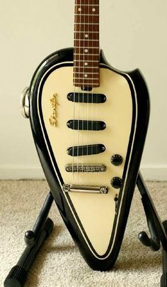 """This is called the """"Biker"""" guitar."""