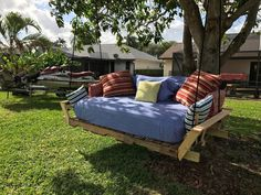 We have a beautiful tree, facing the canal in our back yard. Jet skis and boats go by all day long and although eventually we will build a dock, pergola, fire p…