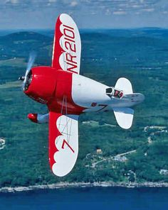Gee Bee Super Sportster was created by the Granville Brothers as a racing plane