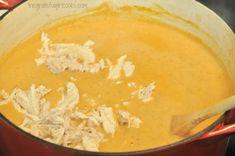 Chili's Chicken Enchilada Soup (copycat) / The Grateful Girl Cooks! Chili's Chicken Enchilada Soup (copycat) / The Grateful Girl Cooks! Chili's Chicken Enchilada Soup, Enchilada Recipes, Chicken Chili, Chicken Enchiladas, Gourmet Recipes, Mexican Food Recipes, Crockpot Recipes, Soup Recipes, Homemade Enchiladas