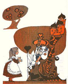 Alice in Wonderland Illustrated by Brigitte Bryan